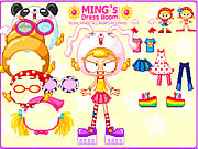Click to Play Ming's Dress Room