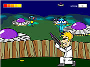 Click to Play Alien Shooter