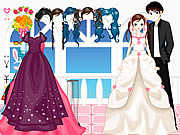 Click to Play The Bride Dressup