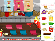 Click to Play XXXL Burger
