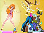 Click to Play Tegan Dressup