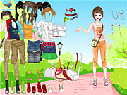 Click to Play Outdoor Dressup