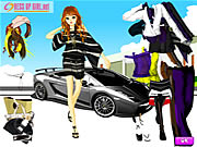 Click to Play Uptown Girl Dressup