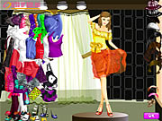 Click to Play Shining At Night Dressup