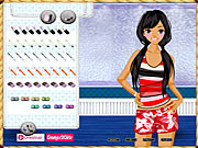 Click to Play Beach Girl Dressup