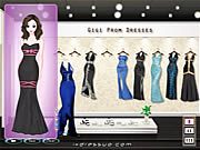 Click to Play Gigi Prom Dressup
