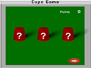 Click to Play Cups Game