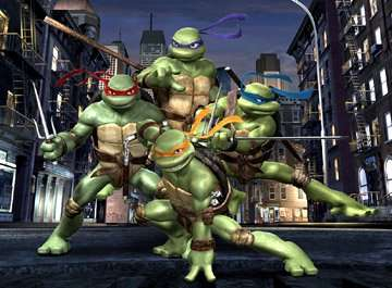 Click to Play Teenage Mutant Ninja Turtles -  Street Brawl