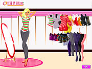Click to Play Shopping For New Year 2009