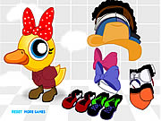 Click to Play Ducky Dress Up