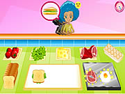 Click to Play Breakfast Sandwich Shop