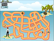 Click to Play Maze Game - Game Play 8