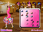 Click to Play Flamenco Dancer Dressup