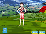Click to Play Sky Diver Dress Up