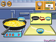 Click to Play Cooking Show: Cheese Omelette