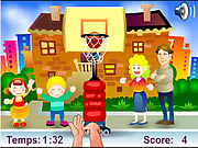 Click to Play Street Basket