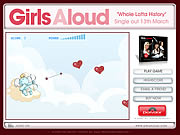 Click to Play Girls Aloud - Mend A Broken Heart Game