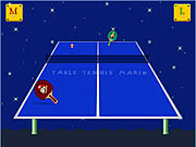 Click to Play Table Tennis Mario