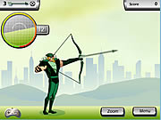 Click to Play Justice League Training Academy - Green Arrow