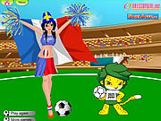 Click to Play WorldCup DressUp