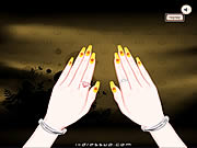 Click to Play Manicure And Bracelet Design