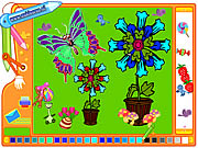 Click to Play Coloring Picture Butterfly