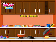 Click to Play Cooking Spaghetti