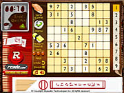 Click to Play Sushi Sudoku