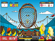 Click to Play Simpsons The Ball of Death