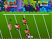 Click to Play Taz Football Frenzy