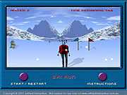 Click to Play Ski Run