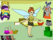 Click to Play Tinkerbell Dress up 2