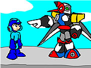 Click to Play Mega Man and the Pompous Robots