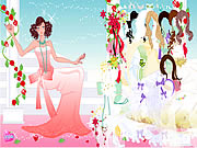 Click to Play Rose Bride Dressup