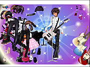 Click to Play Rock Girl Dress Up