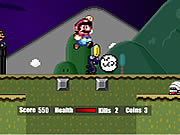 Click to Play Super Mario Flash Halloween Version