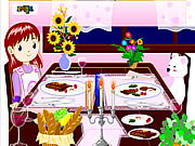 Click to Play Dinner Decoration