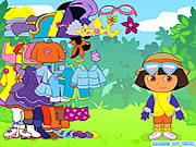 Click to Play Dora the Explorer Dress Up