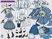 Click to Play Alice in Wonderland Dress Up
