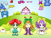 Click to Play Three Fairy Dressup
