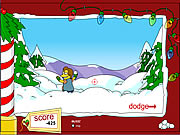 Click to Play Springfield Snow Fight