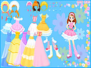 Click to Play Flower Gown Dressup
