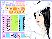 Click to Play Winter Girl Makeup