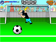 Click to Play Johnny Bravo In Bravo Goalie