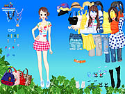 Click to Play Spring Leaves Dressup