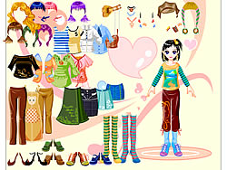 Click to Play Dounia Dressup