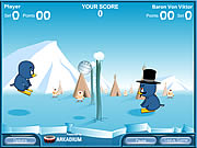 Click to Play Penguin Volleyball
