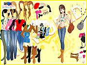 Click to Play Cowboy Boots Dressup