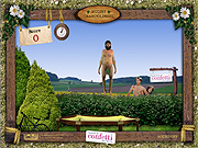 Click to Play Nudist Trampolining