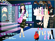 Click to Play Top Model Dress Up